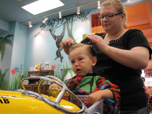 Hudson's 3rd haircut