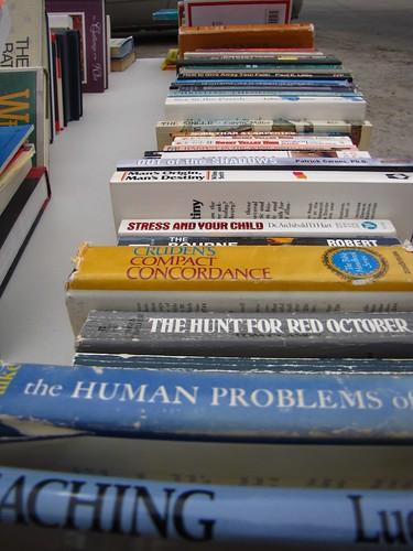 Aqua Books - Garage Sale