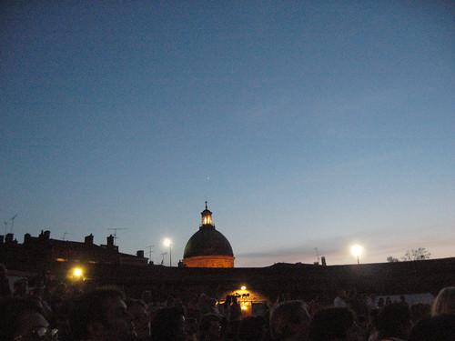 Venus au-dessus de la coupole Saint-Joseph