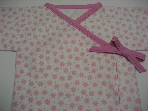 Sewing Project #4 - Baby Kimono 2