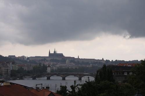 Blick von der Burg Vyšehrad