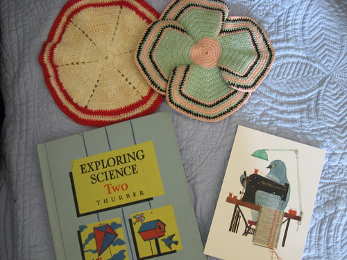 vintage swap received - summer 2010