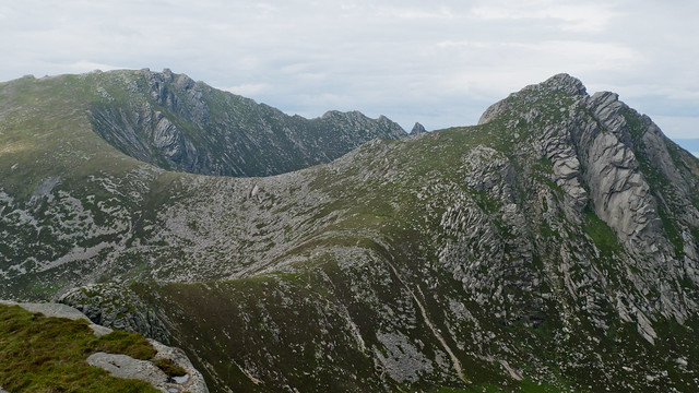 View from A'Chir to Cir Mhor