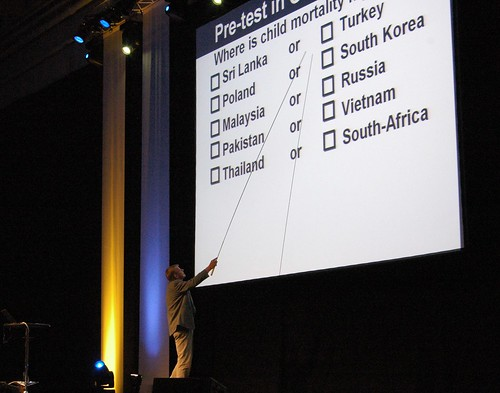 Rosling lecture