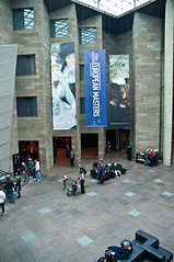 Atrium, National Gallery of Victoria, Melbourn...