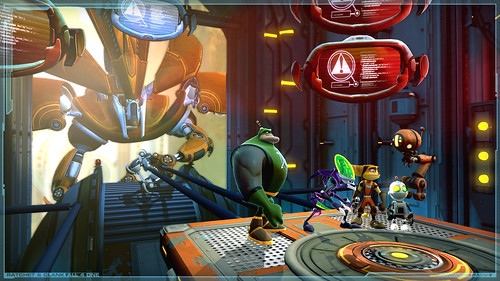 Ratchet and Clank: Todos [Gamescon 2010] 4 One