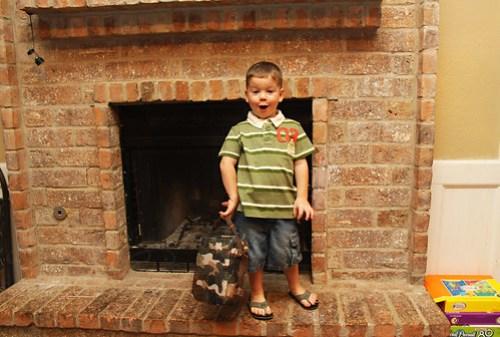 first day of preschool 2010