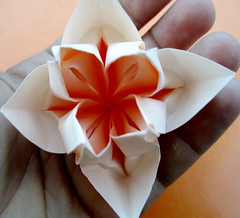 Origami tessellations flotsam and origami jetsam the flower combines some aspects of two flowers one of which is the lotus flower and another i think ive seen and then modifies and shapes the product mightylinksfo