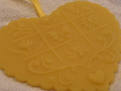 Beeswax Heart