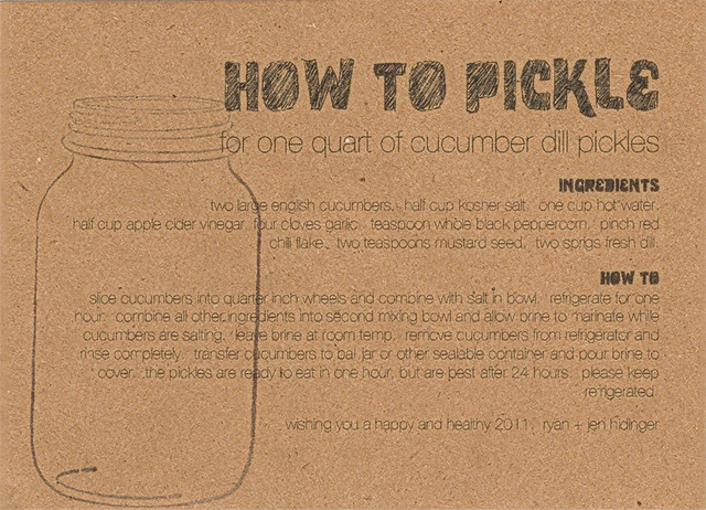 How To Pickle (Staplehouse Style)