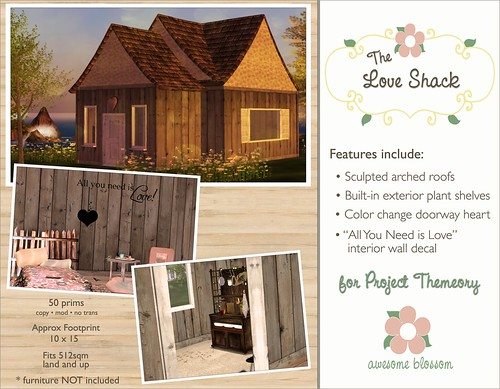 Love Shack for Project Themeory