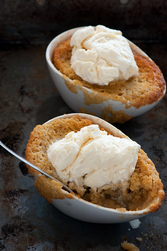 ginger self saucing pudding