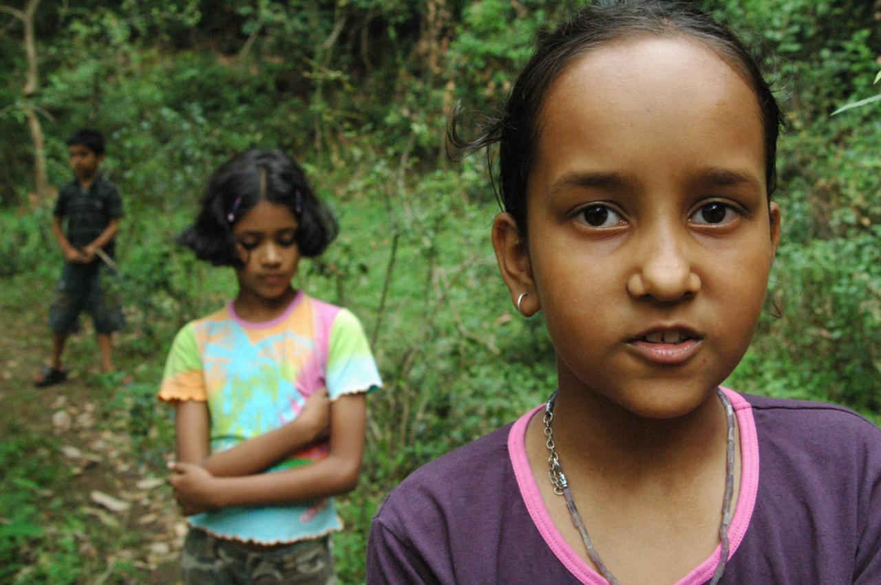 Kanika and Pious, nature intelligent,Butterfly research institute @ Bhimtal, India