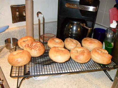 Yum, bagels