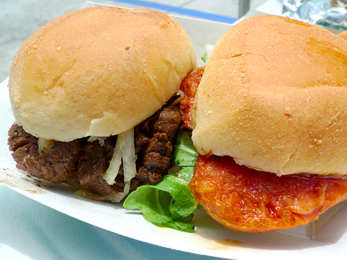 Manila Machine: Beef & Sausage Sliders
