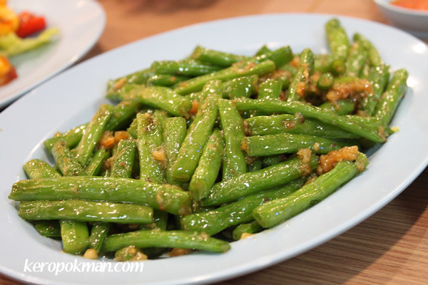 Stir Fried French Beans