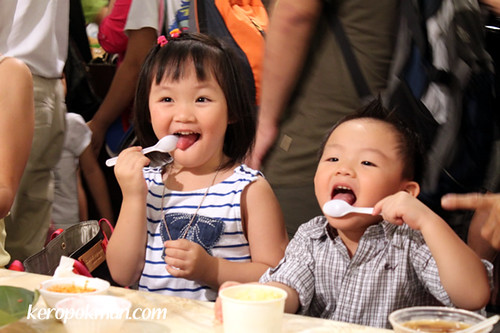 Kids enjoy the Food Festival too