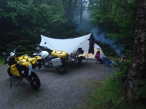 North Chignecto Campground, site #23