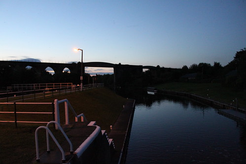 Hunts Lock and Railway Viaduct