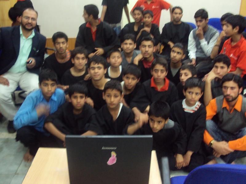 Better way?... children affected by terrorism, Shehjar,Srinagar, Kashmir