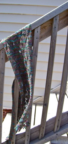 Odonata Scarf in the breeze