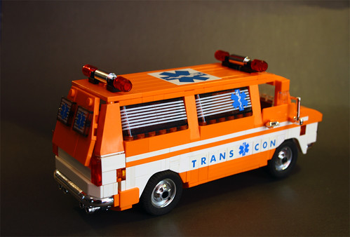 Cannonball Ambulance back