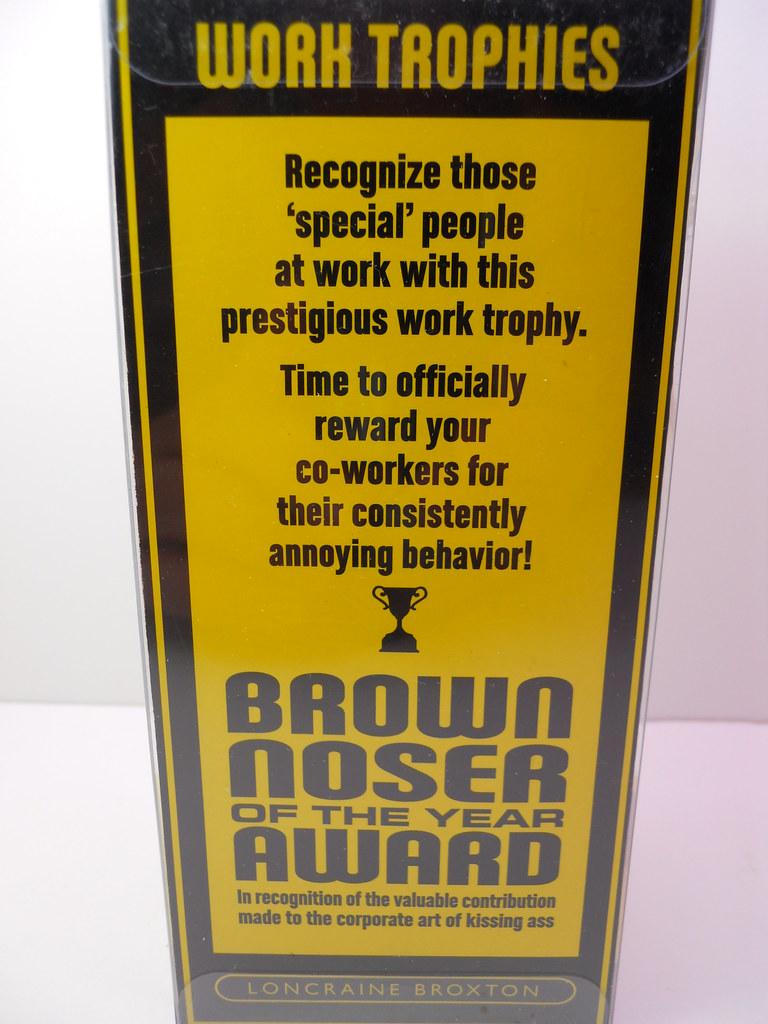 brown noser award (3)