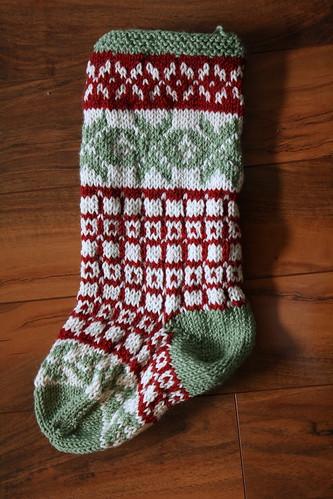 new baby's christmas stocking