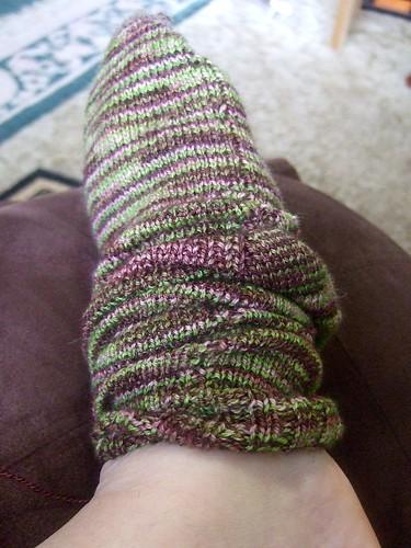 Bendigo sock - poor fitting cuff