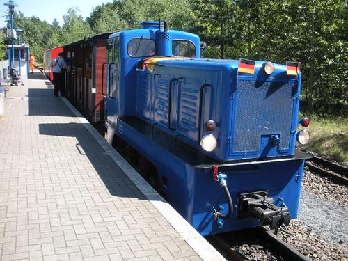 Parkeisenbahn Wuhlheide, Ost Berlin.