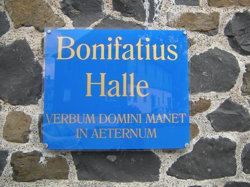 Bonifatius-Halle in Amöneburg