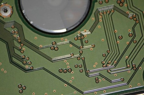 Hard Disk Circuitry