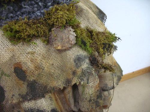 troll - close up, leaf
