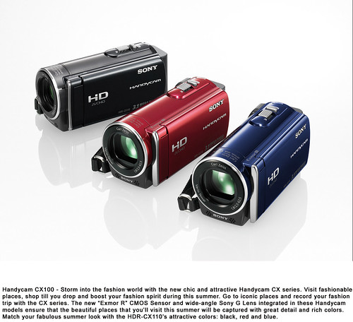 Sony CX110 color