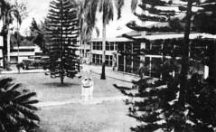 Nurses at the Naval Hospital Yard