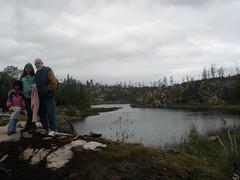 Overlooking Lake Saganaga