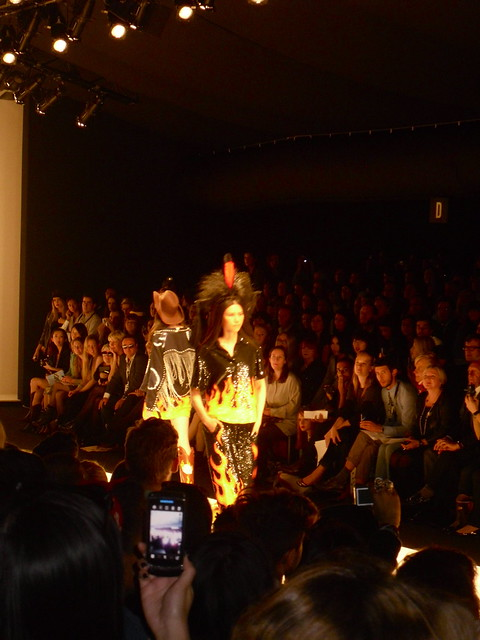 Ashish flame dress