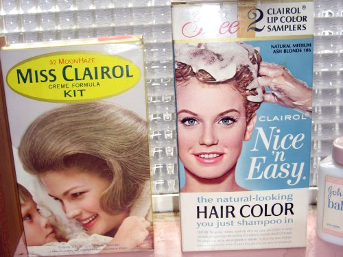 Hair dyes of yesteryear
