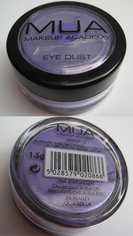 MUA Eye Dust Shade 2-1