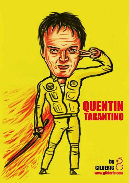 Quentin Tarantino - Tribute by Gilderic