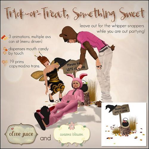 Trick-or-Treat, Something Sweet