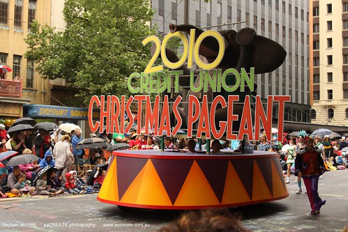 The 2010 Credit Union Xmas Pageant
