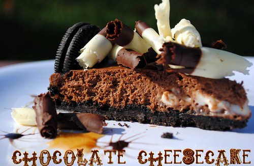Chocolate Cheesecake v3