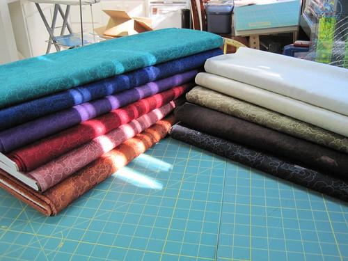 Rainshadow tonal fabrics