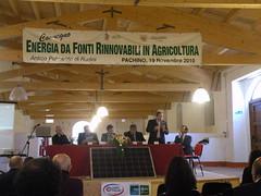 Pachino: Green Economy per ridurre i costi, creare reddito e posti di lavoro