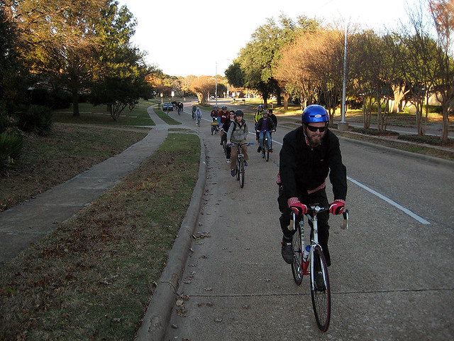 BFR Black Friday Ride - Custer Bike Lane