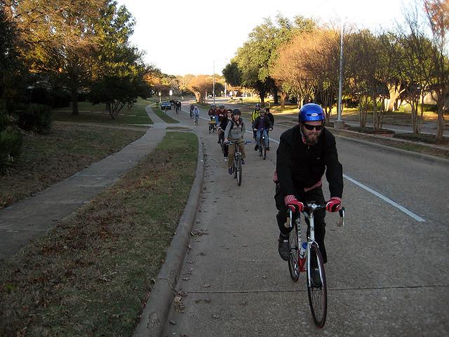 BFR Black Friday Ride - Custer Bike Lane