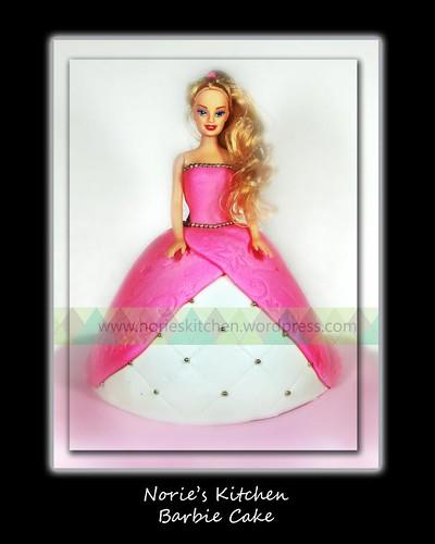 Norie's Kitchen - Barbie Doll Cake