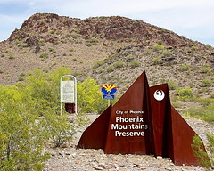 Phoenix Mountains Preserve - Piestewa Entrance...