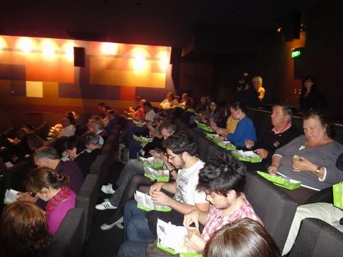People enjoying the degustation